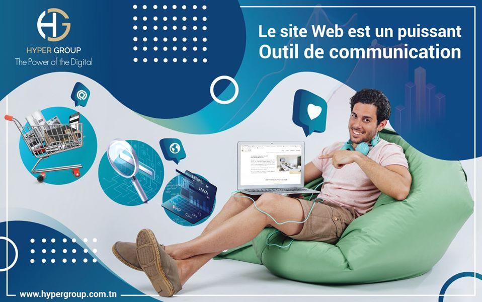 LE SITE WEB Un outil de communication Puissant