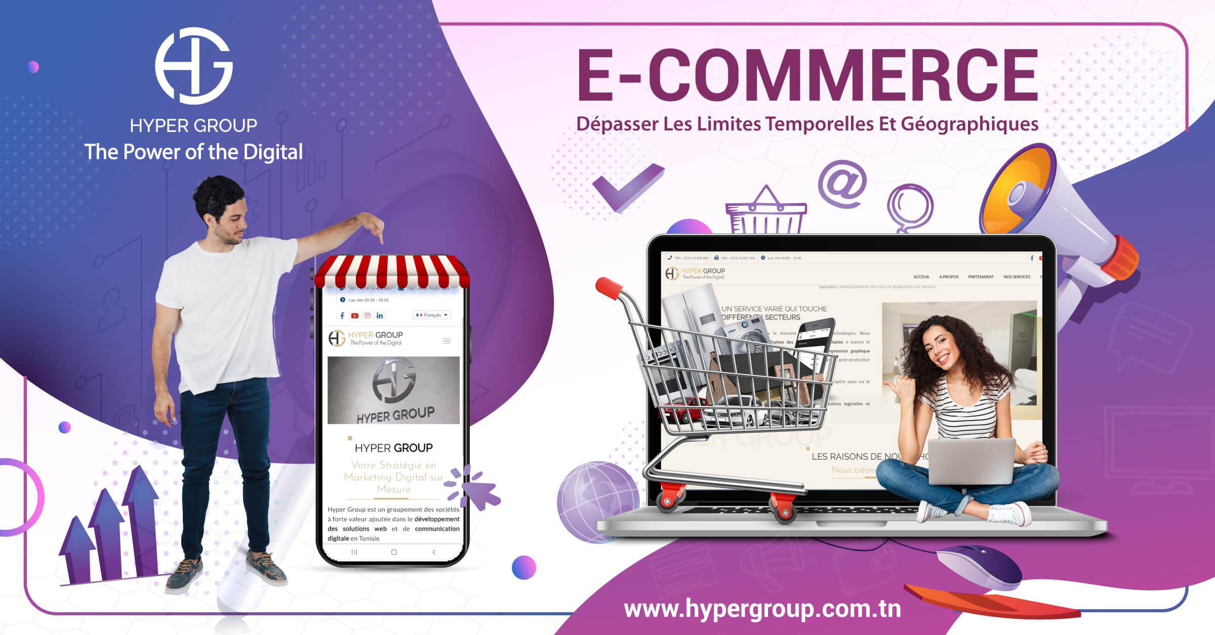 E-Commerce N'est plus un luxe mais une indispensabilité