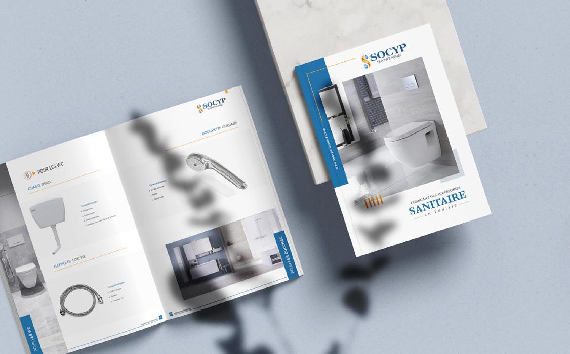 Création catalogue pour Socyp sanitaire