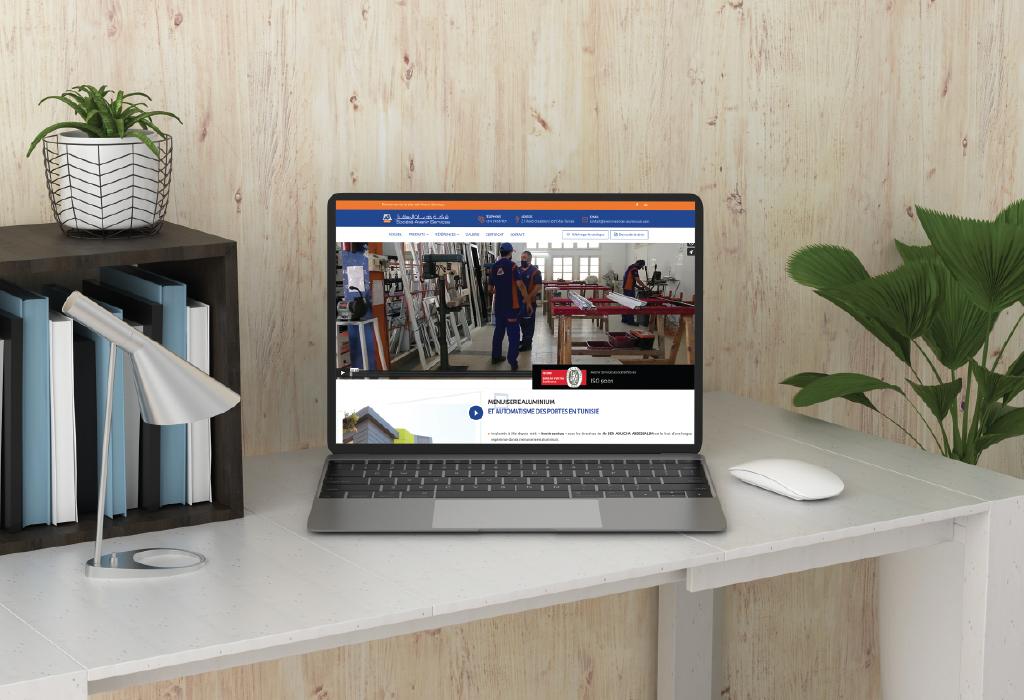 Website developpement for Avenir Services company
