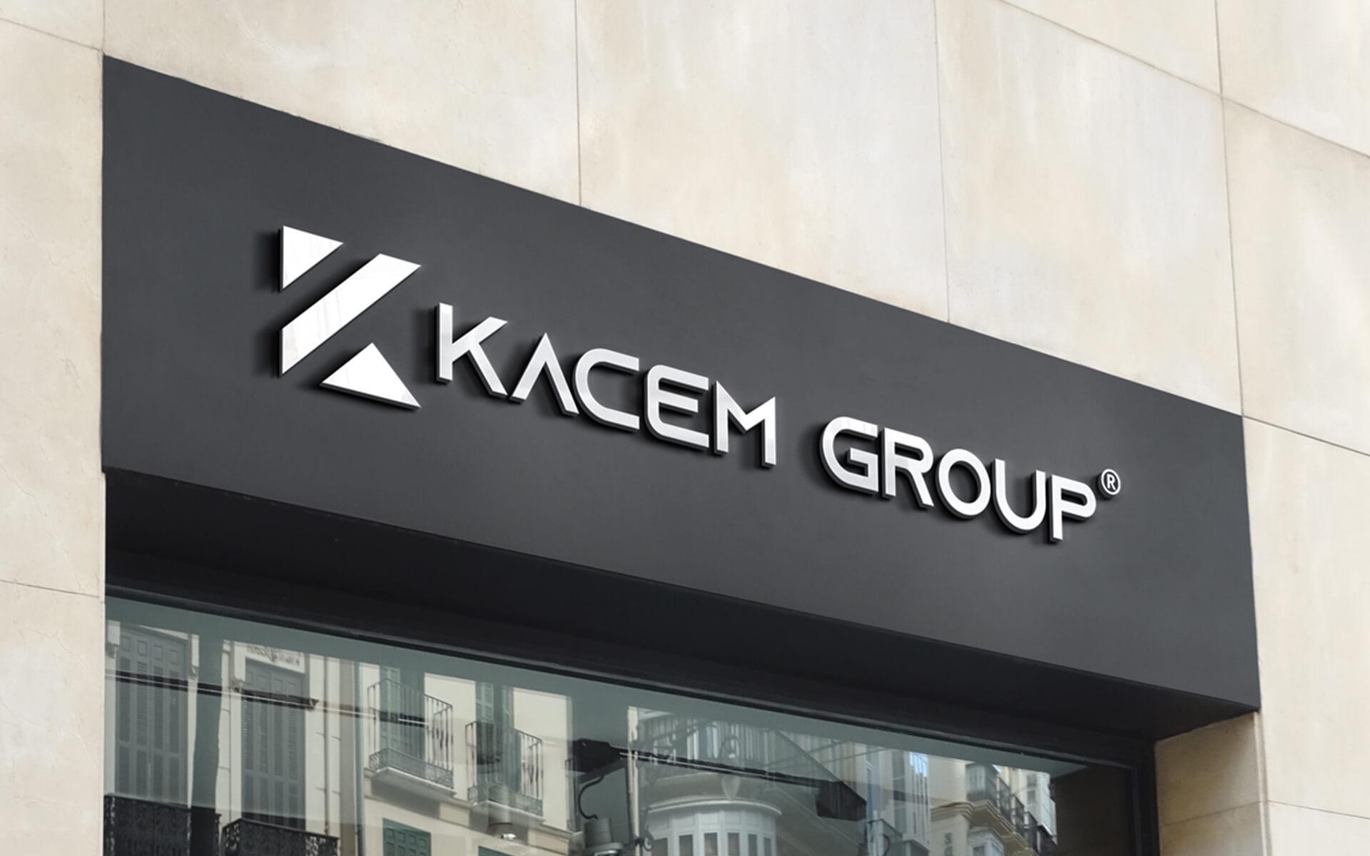 Création logo – Kacem Group